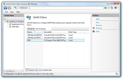 ISAPI filters