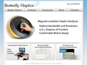 Butterfly Haptics Screenshot